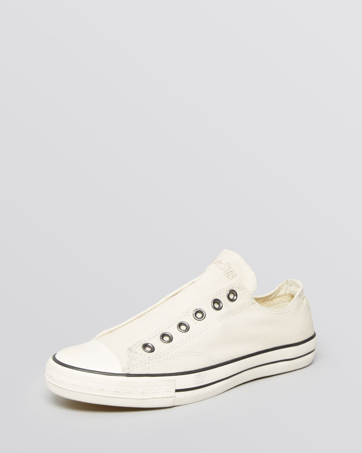 3660adf7d62 Lyst - Converse Chuck Taylor Vintage Slipons in White for Men