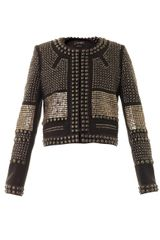 Isabel Marant Jayna Embellished Collarless Jacket - Lyst
