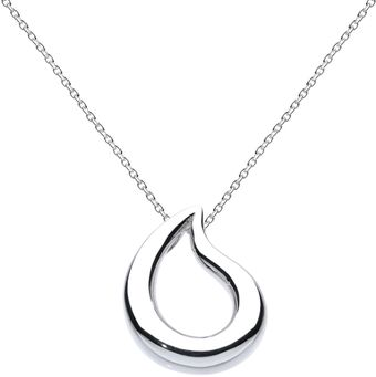 Kit Heath Teardrop Necklace - Lyst