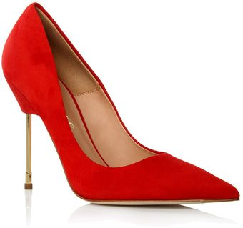 Kurt Geiger Britton Court Shoe with Stiletto Heel - Lyst