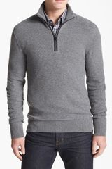 Michael Kors Half Zip Sweater - Lyst