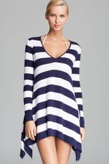 Tommy Bahama High Low Beach Cover Up Sweater - Lyst