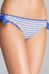 Tommy Bahama Mingling Stripes Reversible Tie Side Hipster Bikini Bottom - Lyst