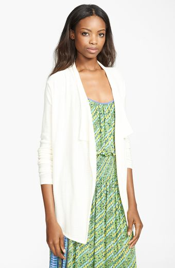Tracy Reese Draped Cardigan - Lyst