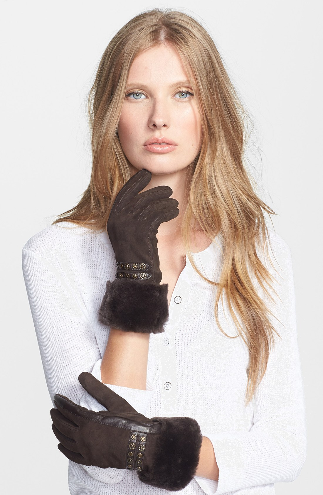 Womens leather gloves australia - Gallery Previously Sold At Nordstrom Women S Leather Gloves