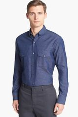 Vince Slim Fit Sport Shirt - Lyst
