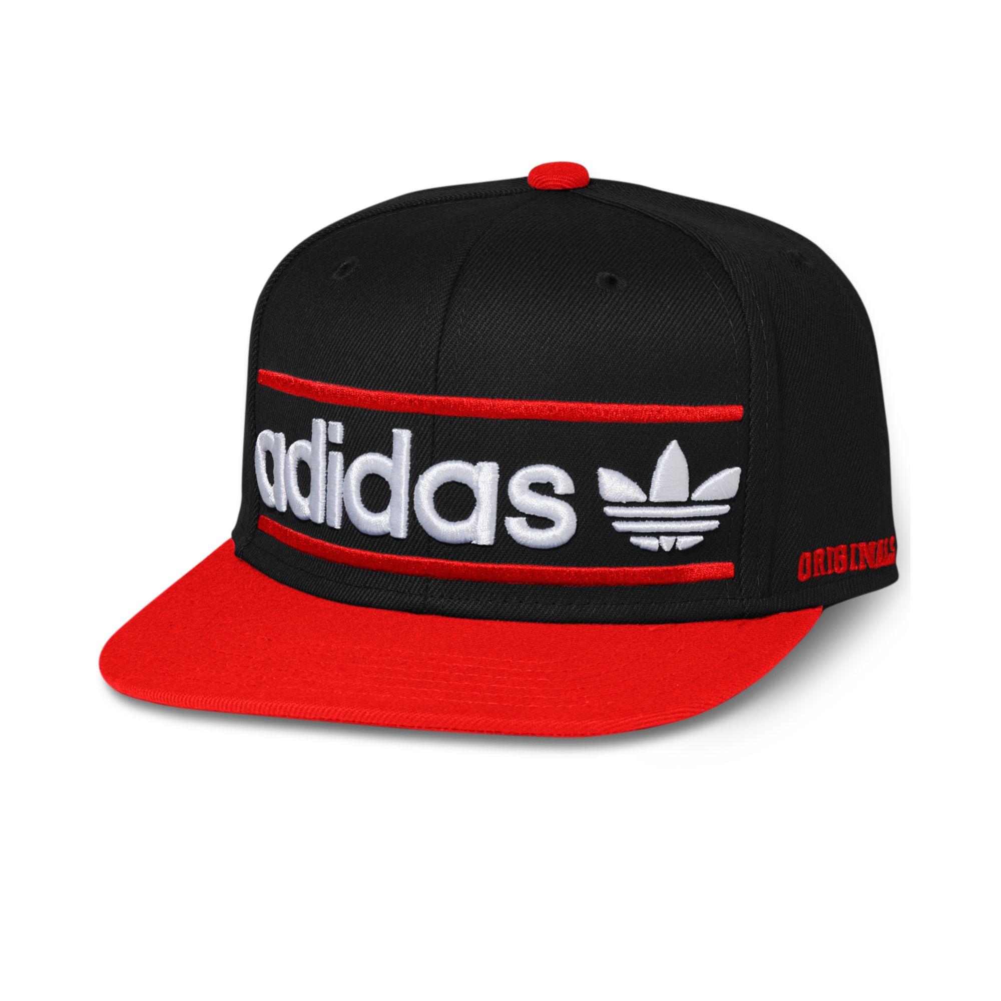 Lyst Adidas Adi Originals Heritage Snapback Cap In Black For Men
