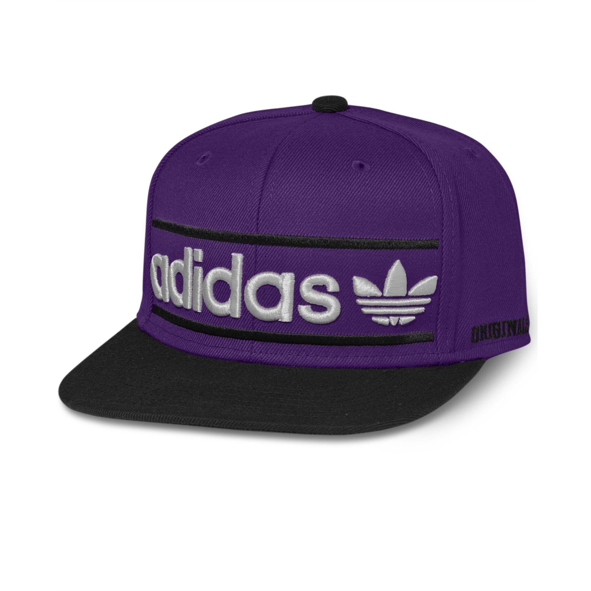 d623cdf9 ... best price lyst adidas adi originals heritage snapback cap in purple  for men 1e0ab 9b90c