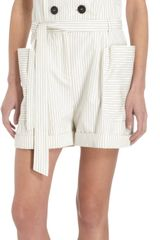 Band Of Outsiders Suiting Romper - Lyst