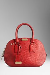 Burberry The Small Orchard in Heritage Grain Leather - Lyst