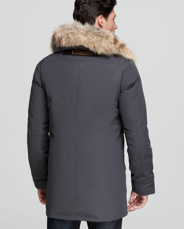 canada goose fur parka