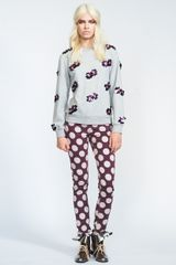 House Of Holland Polka Dot Skinny Jean - Lyst