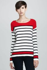 Splendid Pop Stripe Pullover Sweater - Lyst
