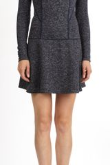 Thakoon Addition Tweed-knit Paneled Dress - Lyst