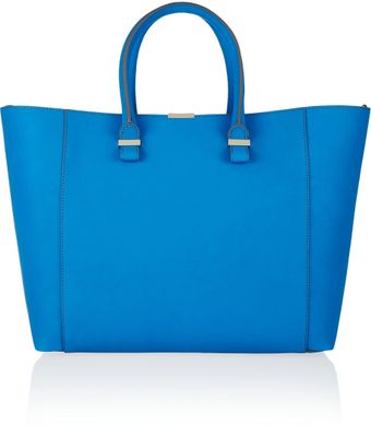 Victoria Beckham Liberty Leather Tote - Lyst