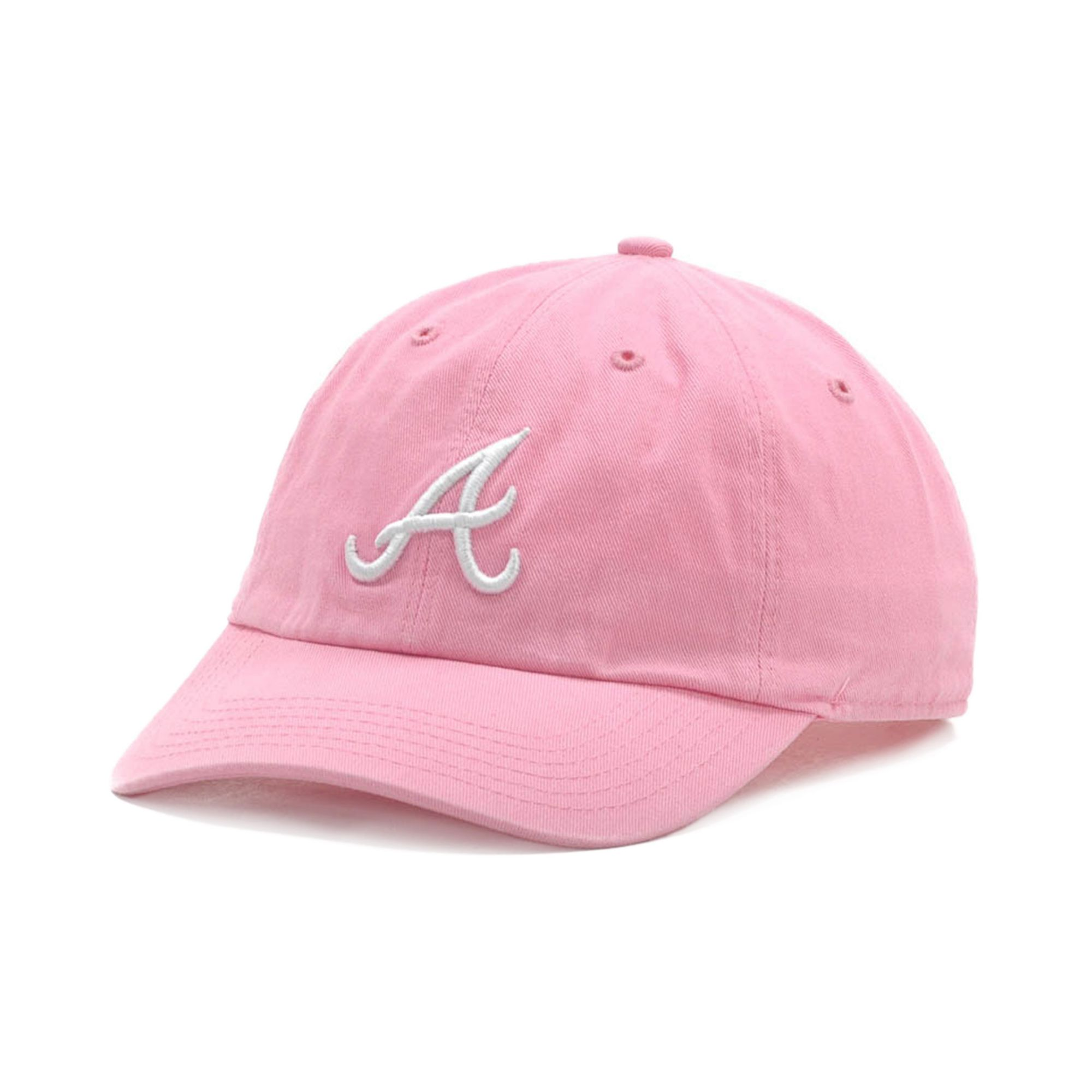 d36e6066573 ... greece lyst 47 brand atlanta braves clean up hat in pink for men d3418  7146f