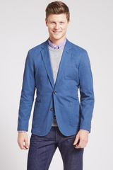 Bonobos The Washed Chino Blazer Dark Denim - Lyst