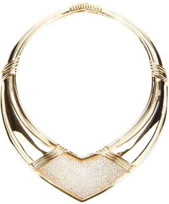 Dior Gold Plated Necklace - Lyst
