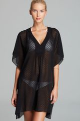 Echo Dot Smock Swim Coverup Dress - Lyst
