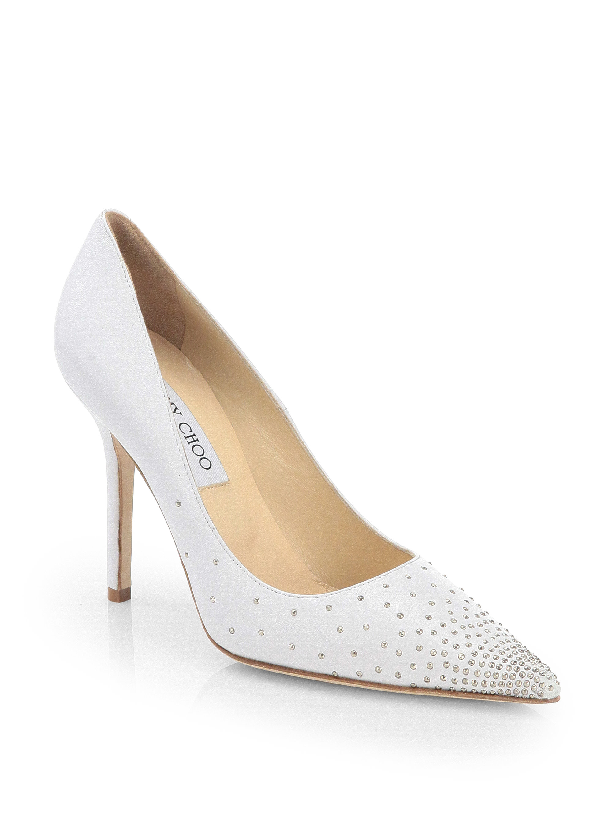 d559cebbea44 Gallery. Previously sold at  Saks Fifth Avenue · Women s Jimmy Choo Abel  Women s Round Toe Pumps ...