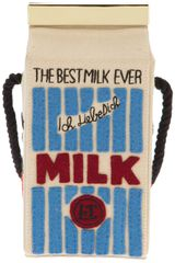 Olympia Le-Tan Milk Carton Shoulder Bag - Lyst