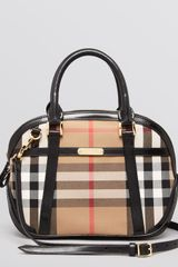 Burberry Satchel Small Orchard Check - Lyst