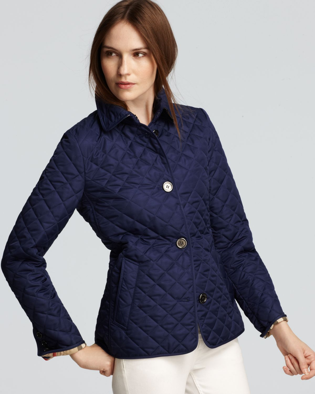 Burberry Brit Women S Copford Jacket Quilted Quilt
