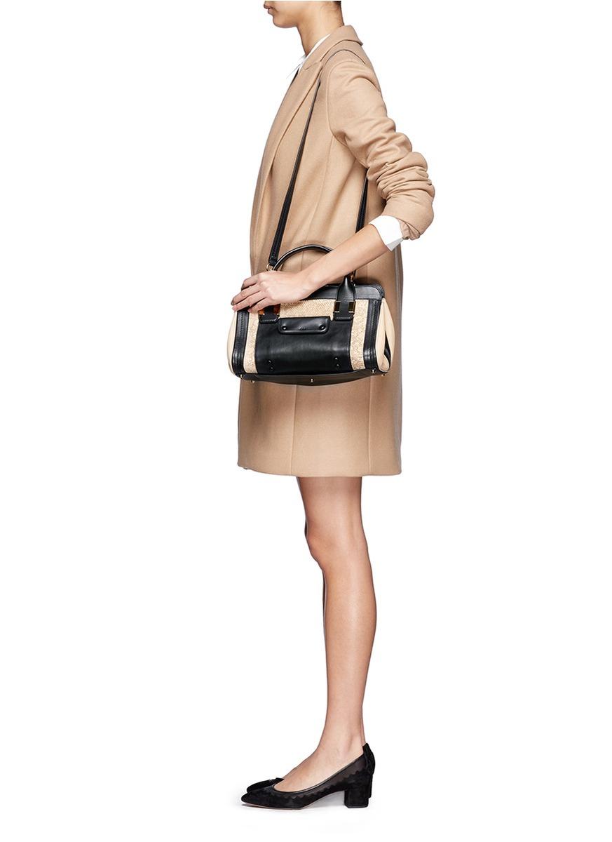 chloe white leather handbag - Chlo�� Alice Lizard Print Small Leather Bag in Animal (Multi-colour ...