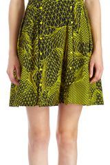 Christopher Kane Geometric Line Print Tank Dress - Lyst