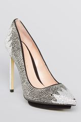 Enzo Angiolini Pointed Toe Platform Pumps Kassim High Heel - Lyst