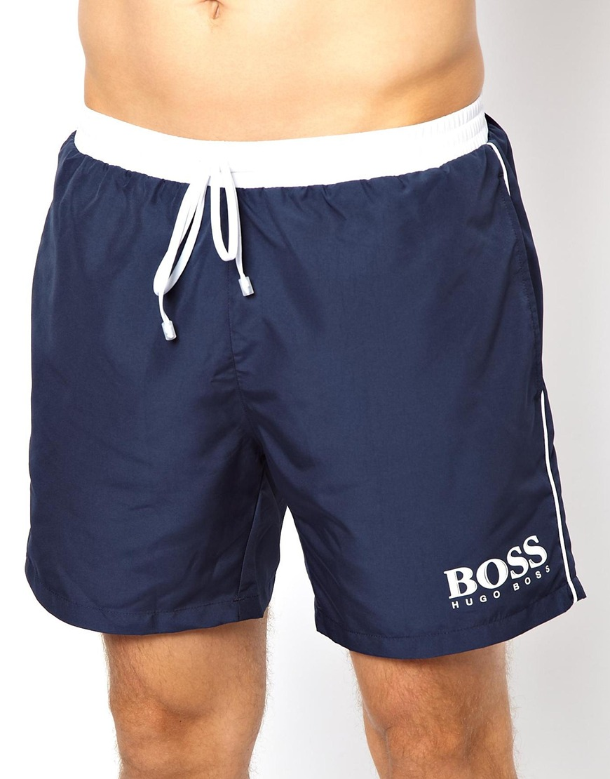 Cheap Sale New Arrival Extremely Star Fish Swim Shorts Exclusive - Navy BOSS Discount Purchase Hot Sale Hot Sale xYmcFje7S5