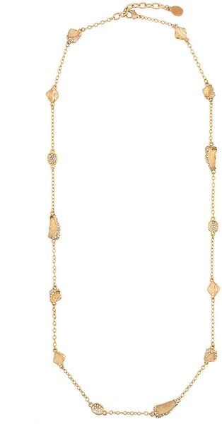 Kara Ross 18kt Gold Plated Crystal Fragment Necklace - Lyst