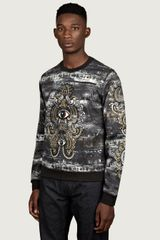 Kenzo Mens Embroidered Eye Print Sweatshirt - Lyst