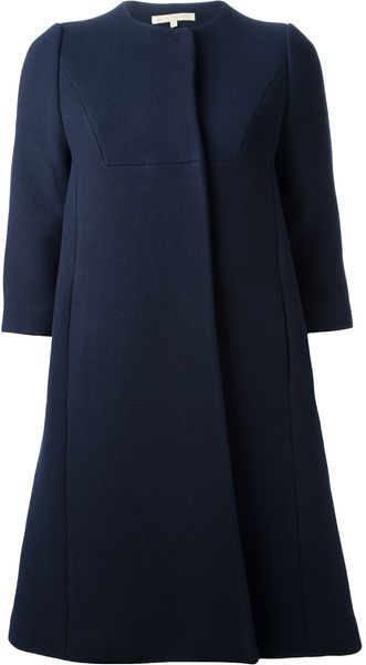 L'Autre Chose Flared Coat - Lyst