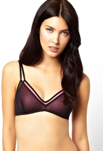 Marios Schwab Kallisti By For Asos Inc Double Layer Soft Triangle Bra - Lyst