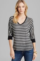 Splendid Sweater Antwerp Stripe Loose Knit - Lyst