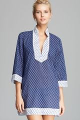 Tory Burch Boria Cover Up Tunic - Lyst