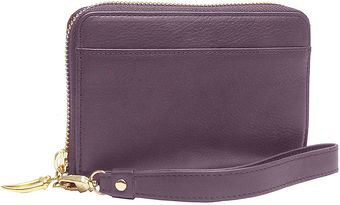 Tusk Leather Smartphone Zip Wristlet - Lyst