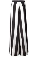 Alice + Olivia Wide Leg Trouser - Lyst