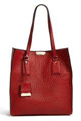 Burberry Woodbury Medium Leather Tote - Lyst