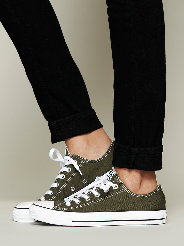 a4ce118b31b1 Lyst - Free People Converse Womens Charlie Converse in Green