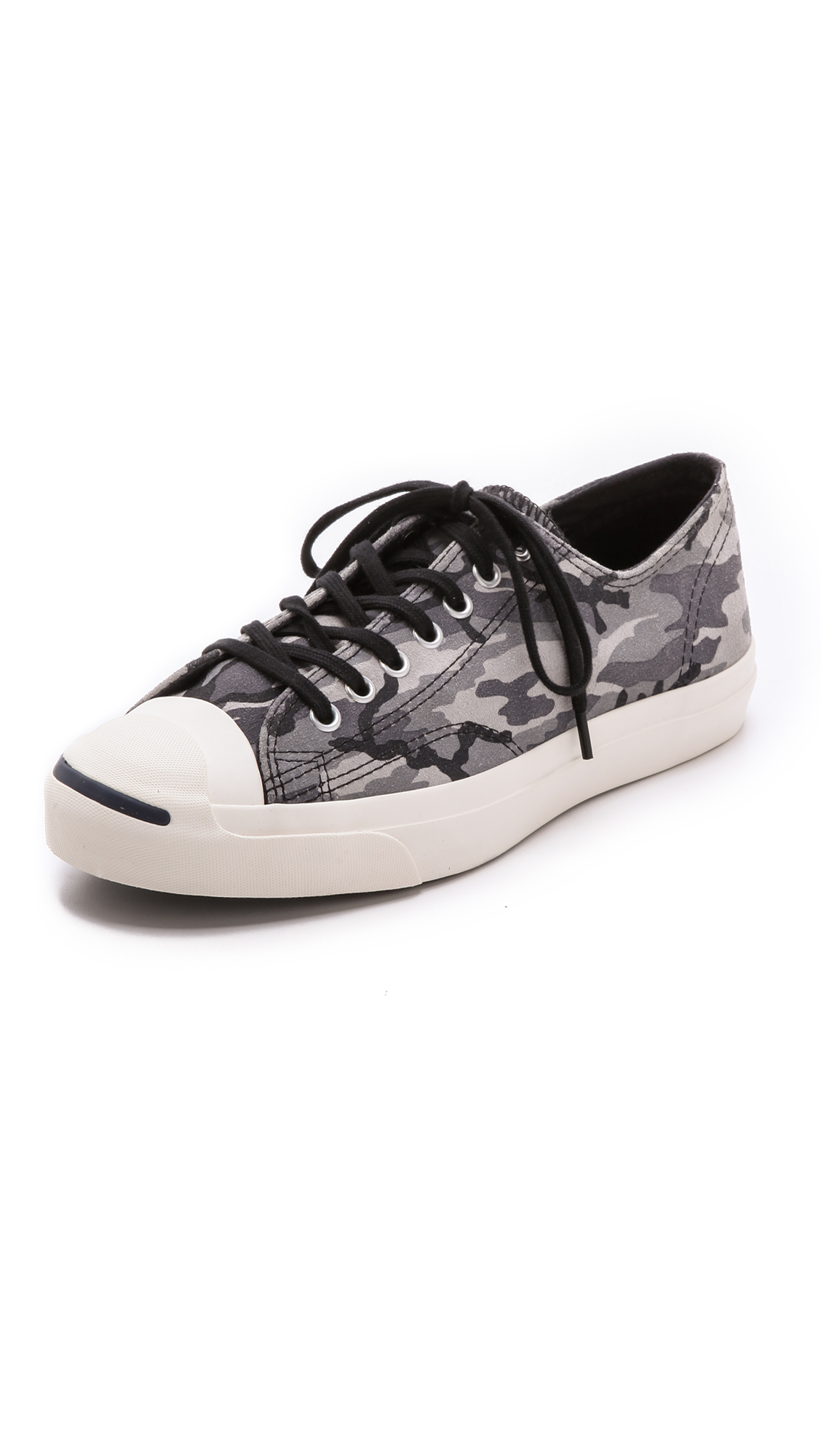 317b5c22b42c Lyst - Converse Jack Purcell Camo Sneakers in Gray for Men