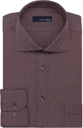 Joseph Abboud Textured Dobby Regular Fit Dress Shirt - Lyst