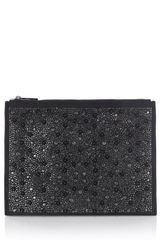 Karen Millen Limited Edition Stud and Jewel Clutch - Lyst