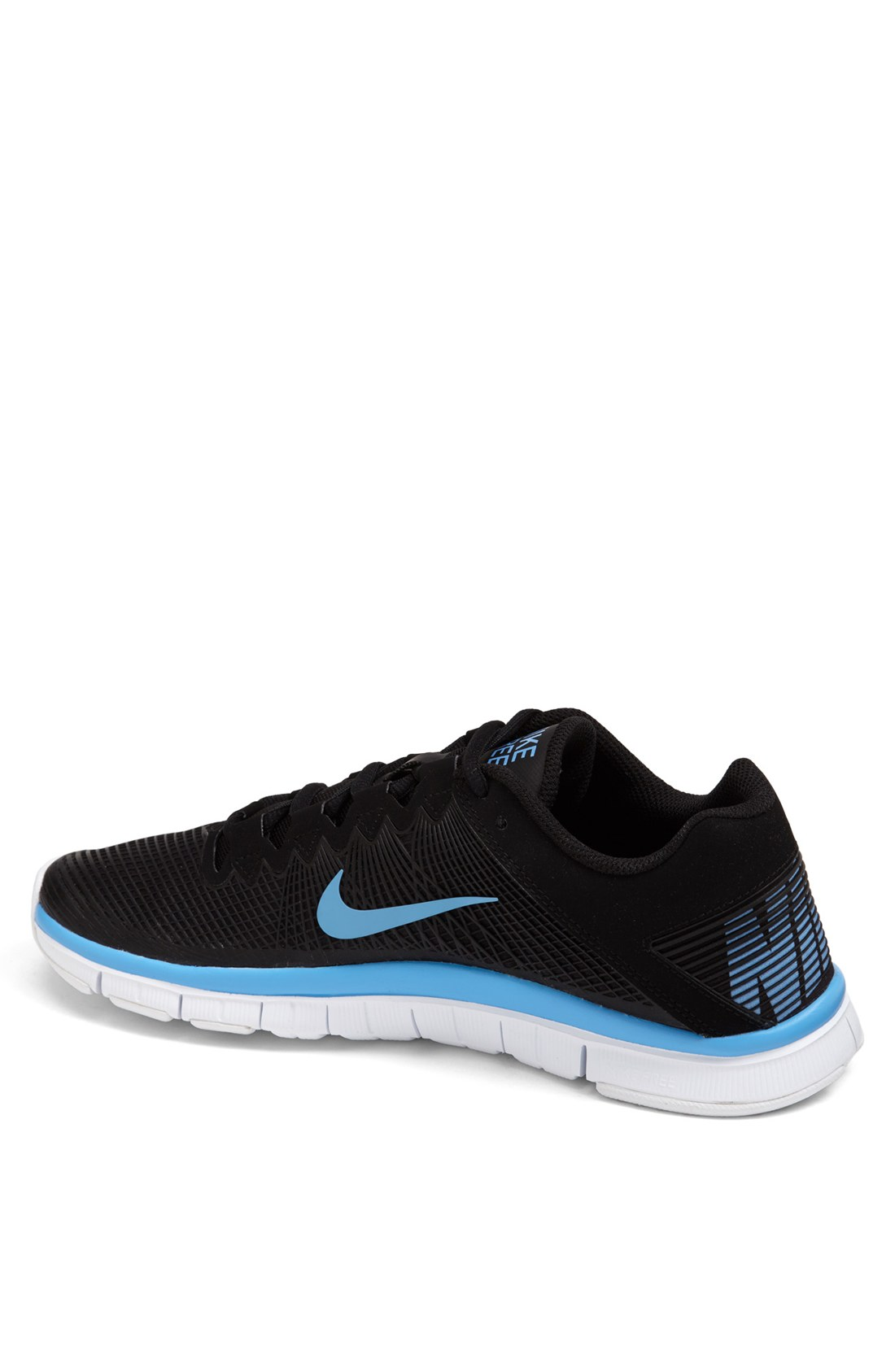 e6ff480bfd149 ... italy nike free trainer 30 training shoe in black for men black  university blue white lyst