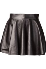 Olympia Le-Tan Pleated Skirt - Lyst