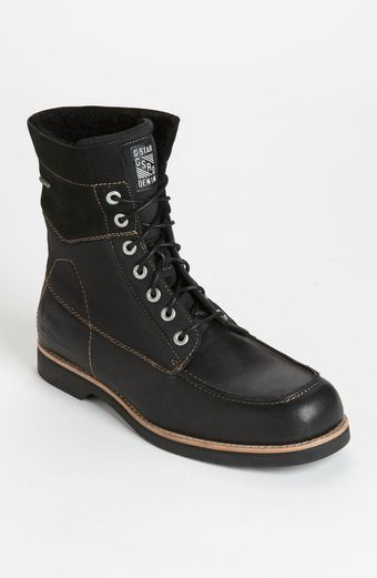 G-star Raw District Carabiner Moc Toe Boot - Lyst