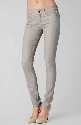 Rich & Skinny The Skinny Jean Grey Crush - Lyst