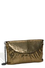 Whiting & Davis Convertible Mesh Clutch - Lyst