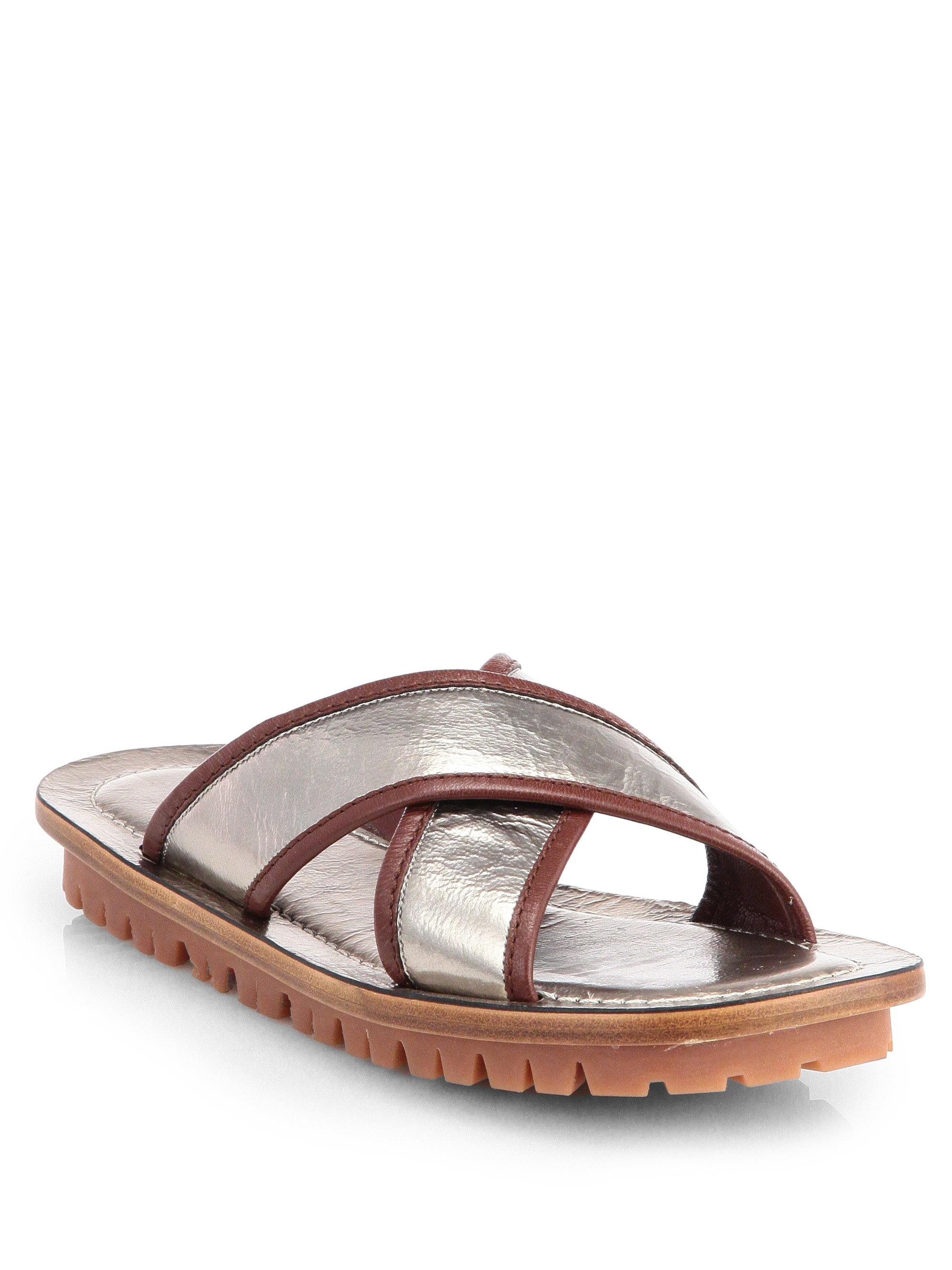 footlocker finishline cheap price cheap good selling Marc Jacobs Satin Crossover Sandals 1V4vnu